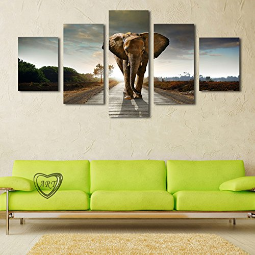 Room Canvas Print Modern Painting-Large Canvas 5 Pcs(No Frame) @ SORNBA (Tshirt Tabletop Display compare prices)