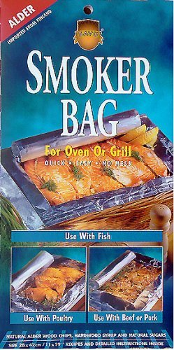 Savu Smoker Bag for Oven/Grill, the Original, in Alder(2) and Hickory(2), 4 Pack (Smoker Bags compare prices)
