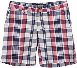 Polo Ralph Lauren Toddler Boys39 2T-4T USA Plaid Shorts-WhiteMulti