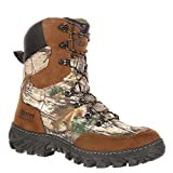 "Rocky Men's 8"" Hunting Leather, Nylon Outdoor Boots"