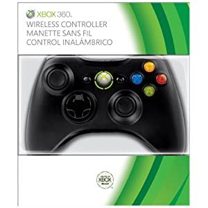 Xbox 360 Wireless Controller (schwarz)