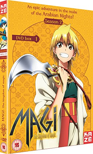 マギ The kingdom of magic コンプリート DVD-BOX 2 [DVD] [Import]