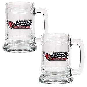 Great American NFL 15 oz. Glass Tankard Set