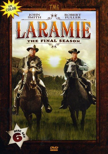 DVD : Laramie: The Fourth Season (The Final Season) (Slim Pack, 6 Disc)