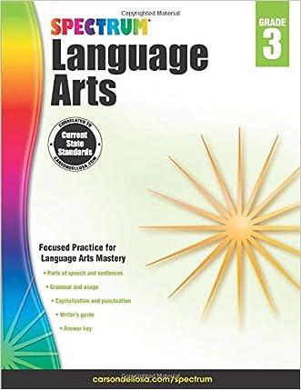 Spectrum Language Arts, Grade 3 written by Spectrum