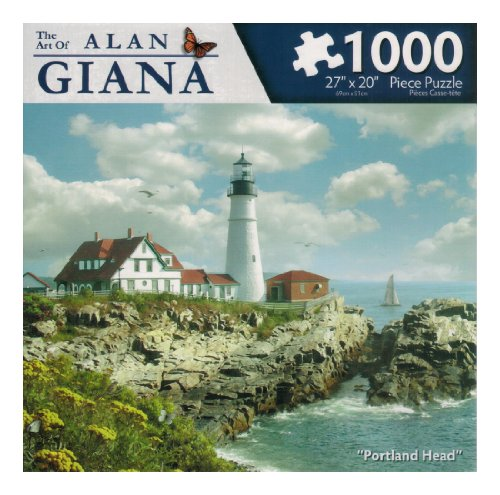 The Art of Alan Giana - 'Portland Head' - 1000 Pc Puzzle - 1