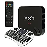 GARY&GHOST MXIII MX3 Android TV Box Portable Smart TV Box