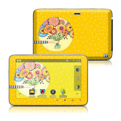 Giving Design Protective Decal Skin Sticker For Latte Ice Smart 5 Inch Hd Smart Media Tablet front-931759
