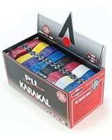 Karakal Couvre-manches Super Squash en polyuréthane Boîte de 24 Assortiment de couleurs