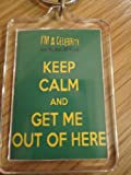 I'm a Celebrity Get Me Out of Here - Keep Calm Key Ring
