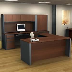 Ushaped Desk Executive Office Set Home Office Furniture Sets
