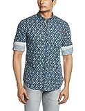 Ed Hardy Men's Casual Shirt (8907259749372_EHSH0423_Large_Navy)