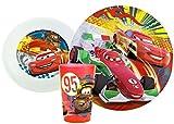 Disney/Pixar Cars Toddler Dining Set - Plate, Bowl, Cup