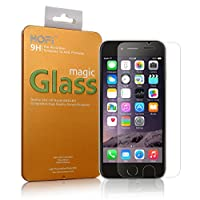"""[iPhone 6s Plus iPhone 6 Plus Tempered Glass Screen Protector] HOFi Premium 0.26mm Tempered Glass Screen Protector for iPhone 6s Plus iPhone 6 Plus 5.5"""" with Anti-Scratch, 3D Touch Compatible, Bubble Free, Explosion-Proof [1 Pack - 5.5 Inch] by HOFI"""