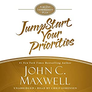 JumpStart Your Priorities Audiobook