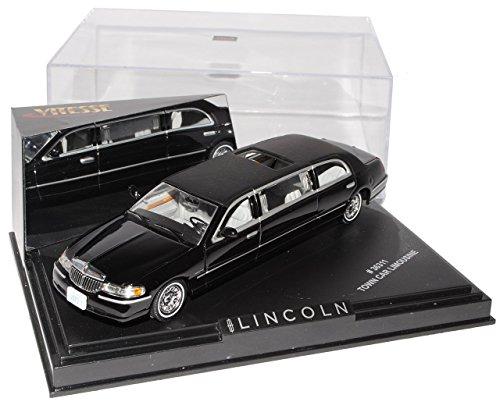 lincoln-town-car-schwarz-stretch-limousine-1-43-vitesse-modell-auto-mit-individiuellem-wunschkennzei