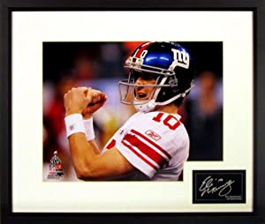 Eli Manning New York Giants 11x14 Super Bowl XLVI Photograph (SGA Signature Series)... by Sports Gallery Authenticated