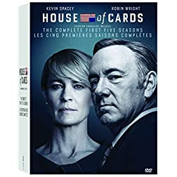 House of Cards Seasons 1-5 Box Set