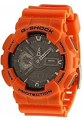 Casio G-Shock Rescue Black Dial Resin Multi Quartz Men's Watch GA110MR-4A