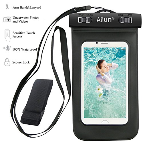 Waterproof iphone 6 case,Armband,Ailun Bag universal for iPhone 6 Plus/6/6s/5s/5c,Samsung Galaxy S6/EDGE/S5/S4/NOTE 4/3/2,Nexus 6/5/4,LG G4/3,Xperia
