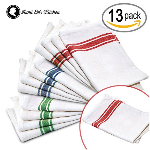 Dish towels: an extra flair of color in your kitchen. Apart from their obvious practical use, dish towels can enhance the décor of your kitchen.