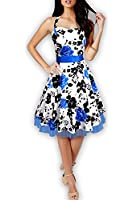 Black Butterfly 'Rhya' Vintage Serenity 50's Dress