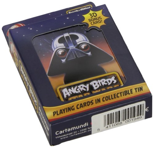 Angry Birds Star Wars Playing Cards In Metal Tin (One random tin supplied) - 1