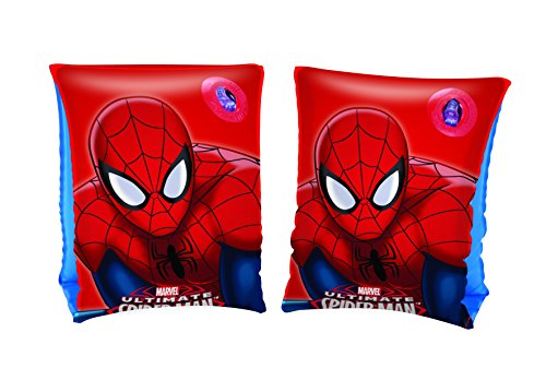 Childrens Marvel Ultimate Spiderman Swimming Armbands - Age 3 to 6 18 to 30KG - 1