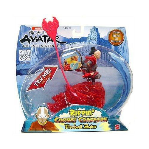 Buy Low Price Mattel Avatar – The Last Airbender Water Series – Rippin' Combat Crashers Fireball Zuko Figure (B000MRB3Z2)