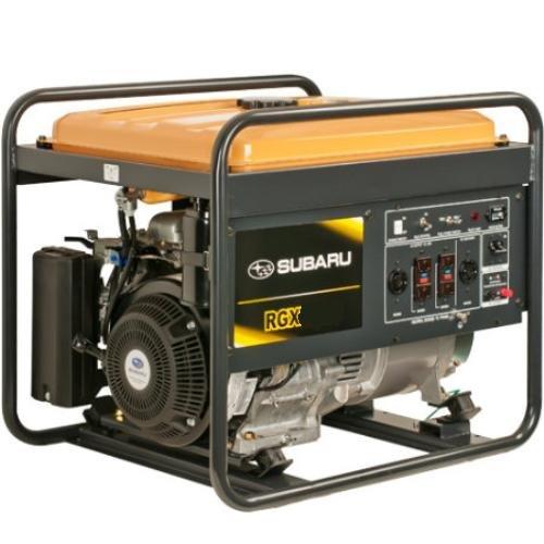 Subaru Rgx7500E Industrial Generator, 7500-Watt