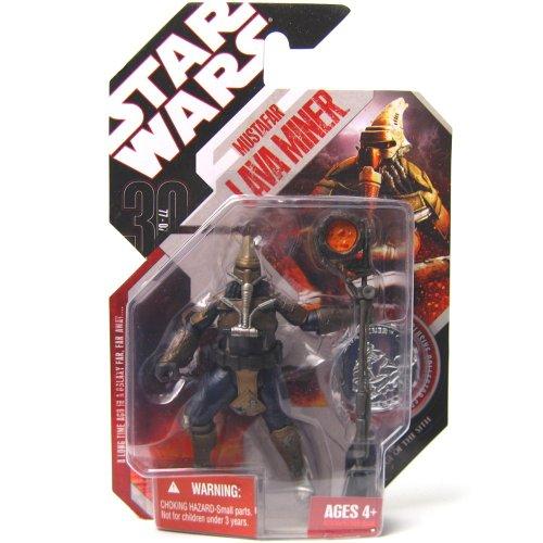 Star Wars 2007 Mustafar Lava Miner 30th MOC