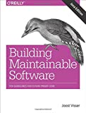 img - for Building Maintainable Software, Java Edition: Ten Guidelines for Future-Proof Code book / textbook / text book