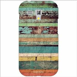 Design Worlds - Samsung Galaxy S Duos 7562 Designer Back Cover Case - Multi...