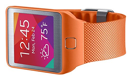 Samsung Galaxy Gear 2/Neo Replacement Plastic Band - Retail Packaging - Orange
