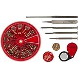 Kit de Reparación de gafas y relojes, 9-Piezas SE JT69WGK