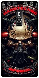The Racoon Lean printed designer hard back mobile phone case cover for OnePlus 2. (Hard Techn)