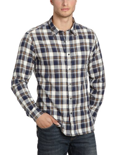 Replay Men's M4764C.000.51040 Casual Shirt Multicoloured (Natural 020) 48