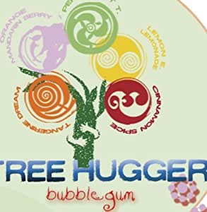 Tree Hugger Tree Hugger Bubble Gum, 2-Ounce Packages (Pack of 6)