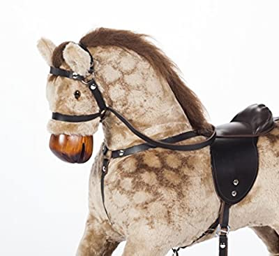 Handmade Rocking Horse MARS PINTO Cheval à bascule MJmark