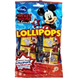 Mickey Mouse Lollipop Party Pinata Treats 8 Count Shaped Like Mickey Watermelon Flavor Great for Pretty