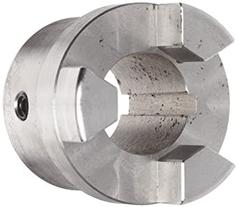 Boston Gear FC2511/4 Shaft Coupling Half, FC25 Coupling Size, 1.250 inches Bore, 1-19/32 Thru Bore Length, 2.250 inches Hub Diameter, 19.3 Max HP at 1750 RPM, 845 Max Torque (LB-IN), Steel
