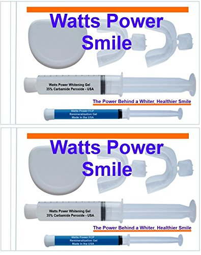 2-35-tooth-whitening-kits-complete-with-trays-aftercare-gels-20ml-optimized-formula-by-watts-power-w