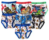 Disney Toddler Boys Jake and the Never Land Pirates 7-pack Briefs