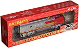 Bachmann Industries F7-A DCC Sound Value Equipped HO Scale Diesel Santa Fe Locomotive, Red/Silver
