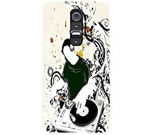 perfect print Back cover for LG G2