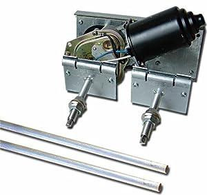 Autoloc wiper2 heavy duty power windshield for Windshield wiper motor kit