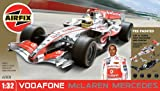 Airfix A50008 1:32 Scale Pre-Painted Vodafone McLaren Mercedes Lewis Hamilton MP4-21 Formula One Snap-Together Model Set