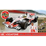 Airfix A50008 1:32 Scale Pre-Painted Vodafone McLaren Mercedes Lewis Hamilton MP4-21 Formula One Snap-Together Model Setby Airfix Non-military...