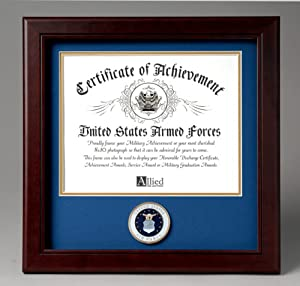 Allied Frame United States Air Force Certificate of Achievement Frame