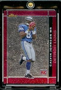 2007 Topps Finest # 135 Calvin Johnson (RC) - Detroit Lions - Premium NFL Trading... by Finest